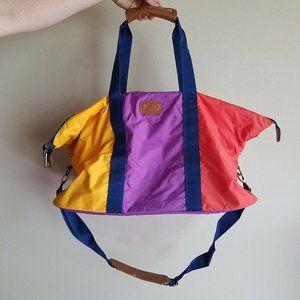 Zumba Duffle Bag Gym Bag Travel Bag Color Block